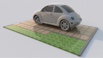 Pavimentazione Drenante Da Giardino : Lastre pavimentazione per esterno drenanti u bologna